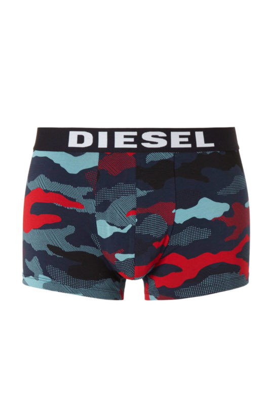 diesel seasonal edition mens boxer cotton 3 pack camouflage underwear trunks
