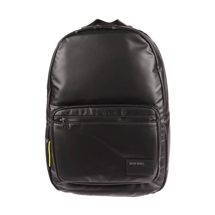 diesel f discover unisex backpack shoulder travel bag school leather look