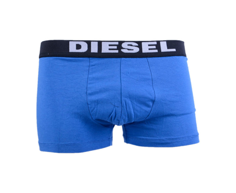diesel umbx rocco mens boxers trunks 2x pack stretch underwear shorts black blue