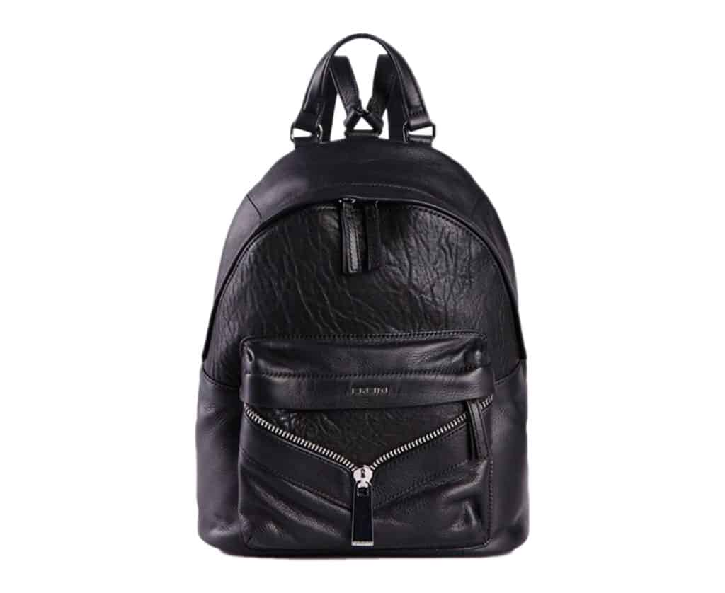diesel leony womens backpack black leather travel rucksack casual shoulder bag