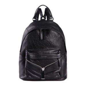 diesel leony womens backpack black leather travel rucksack casual shoulder bag