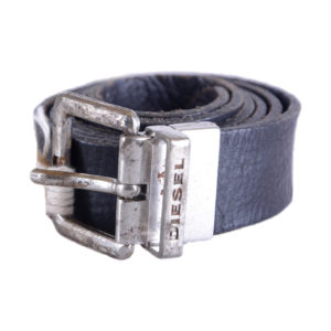 diesel birata  mens belts genuine cow leather vintage black waist belt italy