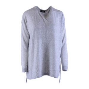 wallis womens boyfriend cardigan long sleeve thin crew neck grey pullover jumper
