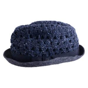 diesel crodophyr 0taav womens fadora hat casual homburg summer tribly cap italy 1 of 3