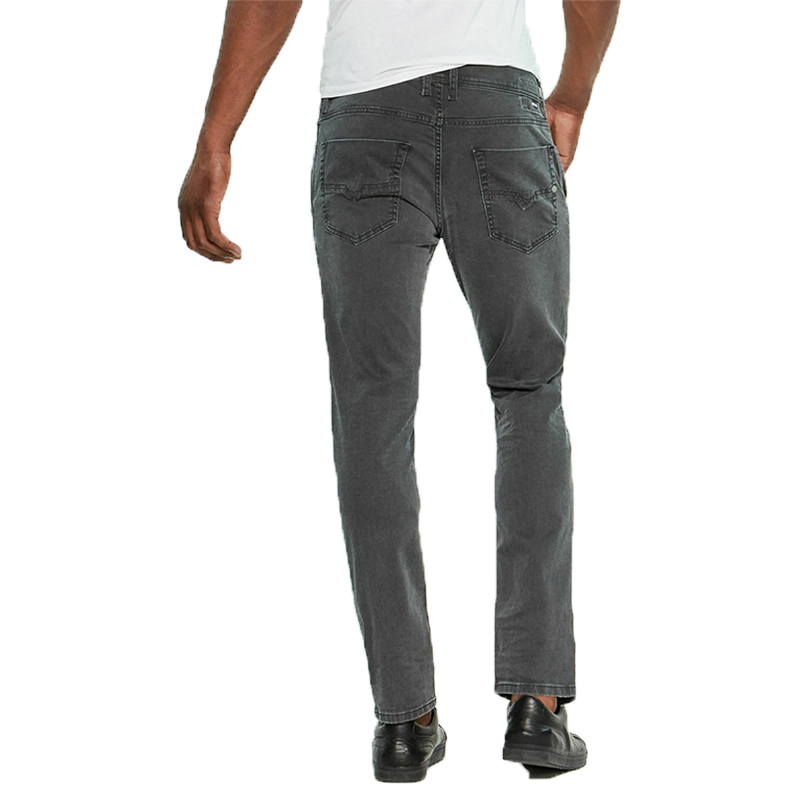 diesel kakee xp r99p6 mens denim jeans stretch cotton slim fit carrot grey
