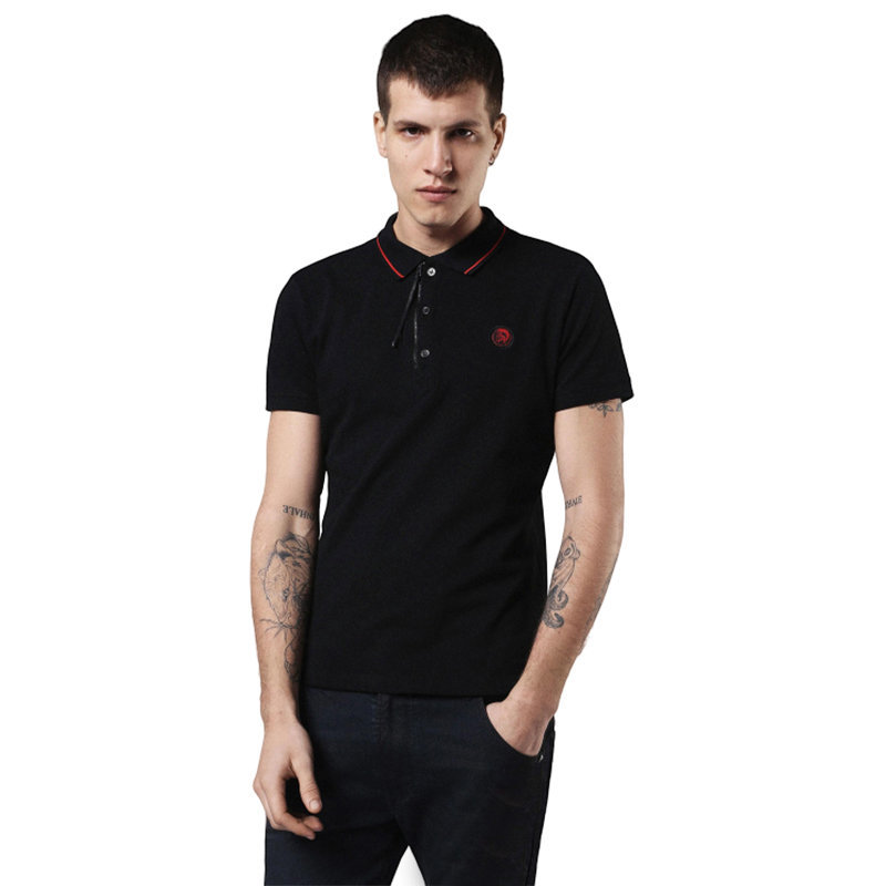 diesel dv polo re camicia mens polo t shirt short sleeve casual summer golf tee