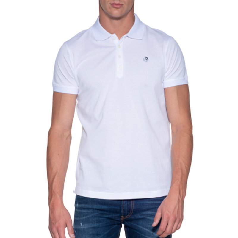 diesel t weet 100 mens polo t shirt short sleeve casual summer cotton golf tee