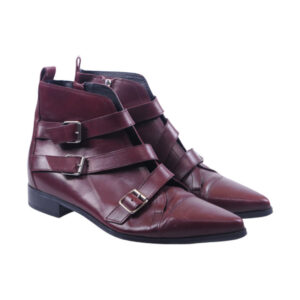 diesel black gold womens boots genuine leather pull on casual shoes rrp-159.99