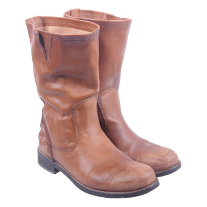 diesel dessert womens knee boots genuine leather hi top casual shoes rrp-219.99
