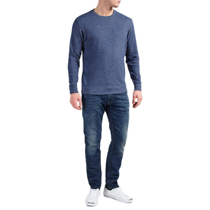 diesel s compton mens sweatshirt crew neck long sleeve casual pullover jumper