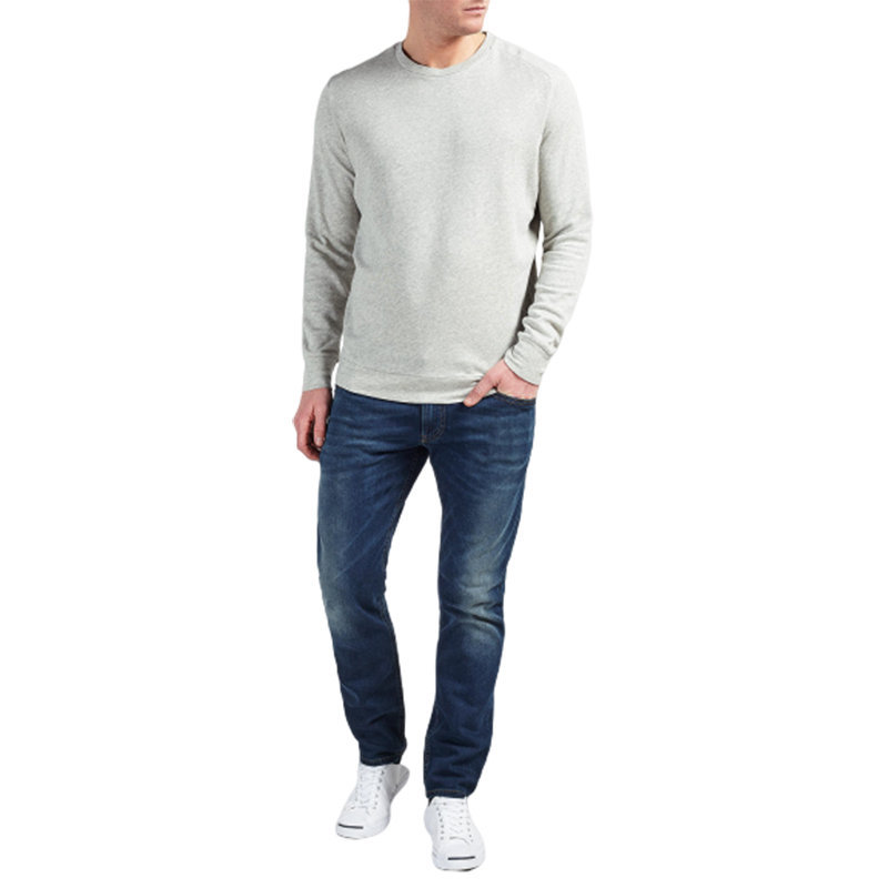 diesel s compton mens sweatshirt crew neck long sleeve casual pullover jumpers