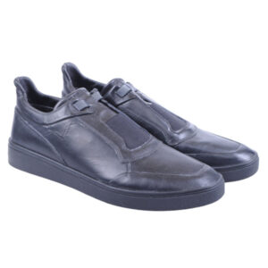 diesel s hyoe on eu 44 mens shoes genuine leather casual black trainers rrp-170