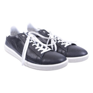 diesel s naptik mens trainers genuine leather lace up casual black shoes rrp-100