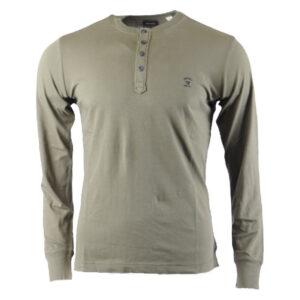 diesel t meletios mens t shirt crew neck long sleeve casual outwear cotton tee