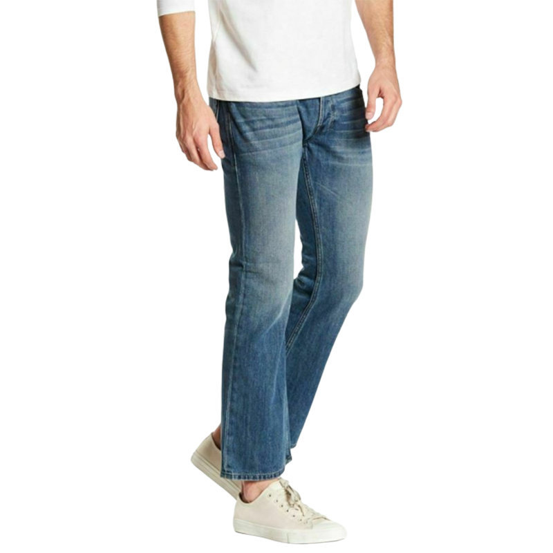 diesel zathan 0rz49 mens denim jeans regular fit bootcut leg casual cotton pants