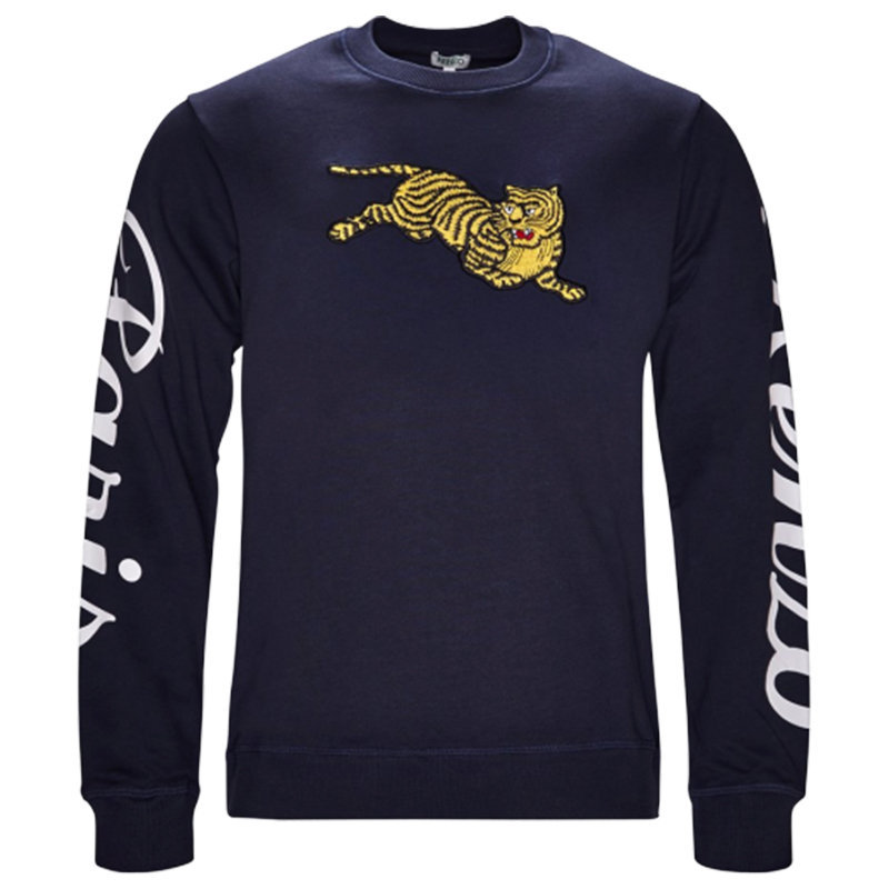 kenzo sweat mens sweatshirt crew neck long sleeve pullover winter casual jumper