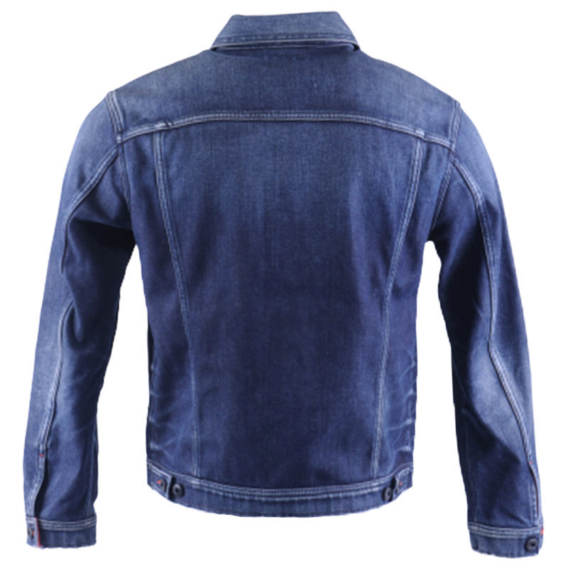 diesel nhill 084et mens denim jacket long sleeve cotton summer casual coat italy