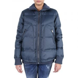 diesel w lot womens puffer jacket padded quilted loose fit winter outwear coat 1 of 5