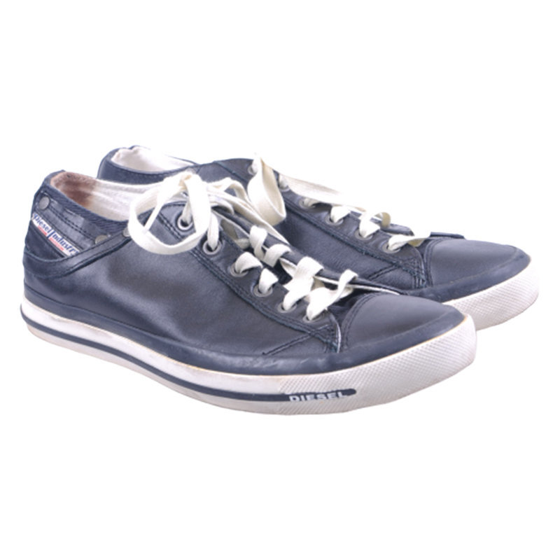 diesel exposure iv low w t8013 womens converse leather casual shoes rrp-149.99