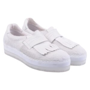 diesel womens trainers leather sneakers casual pull on shoes off white rrp-160