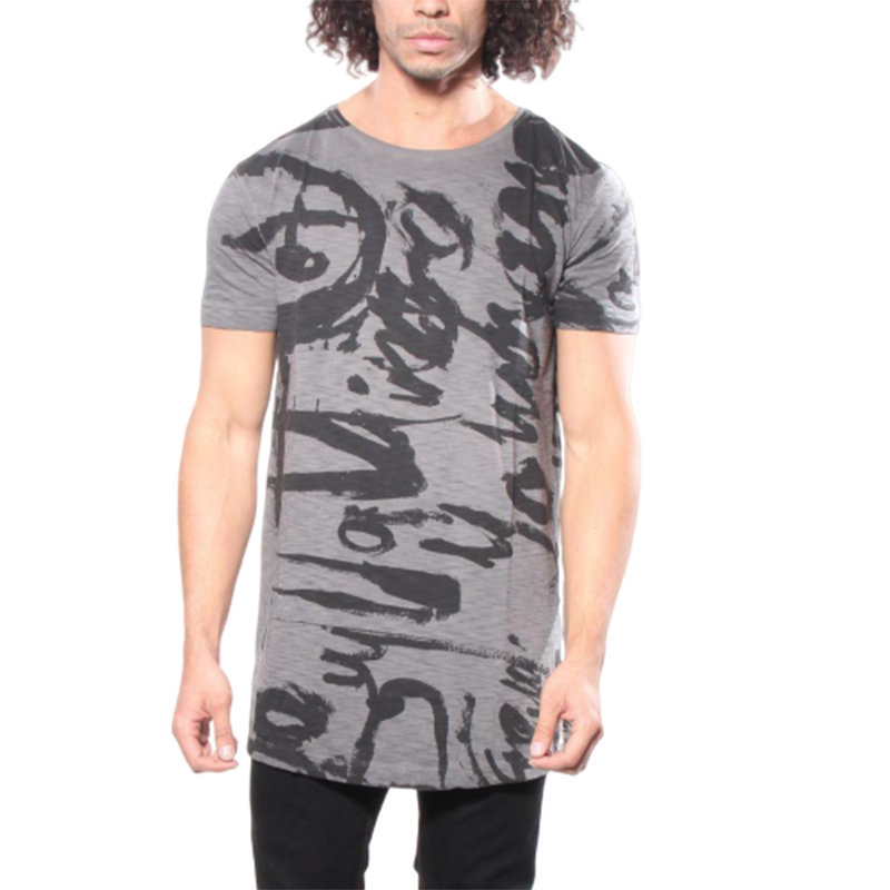 diesel t longer ma graphic mens t shirt short sleeve crew neck summer cotton tee