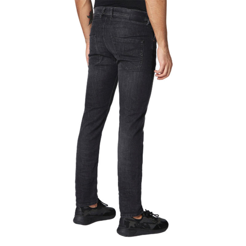 diesel belther 0687j mens denim jeans stretch cotton regular slim tapered leg