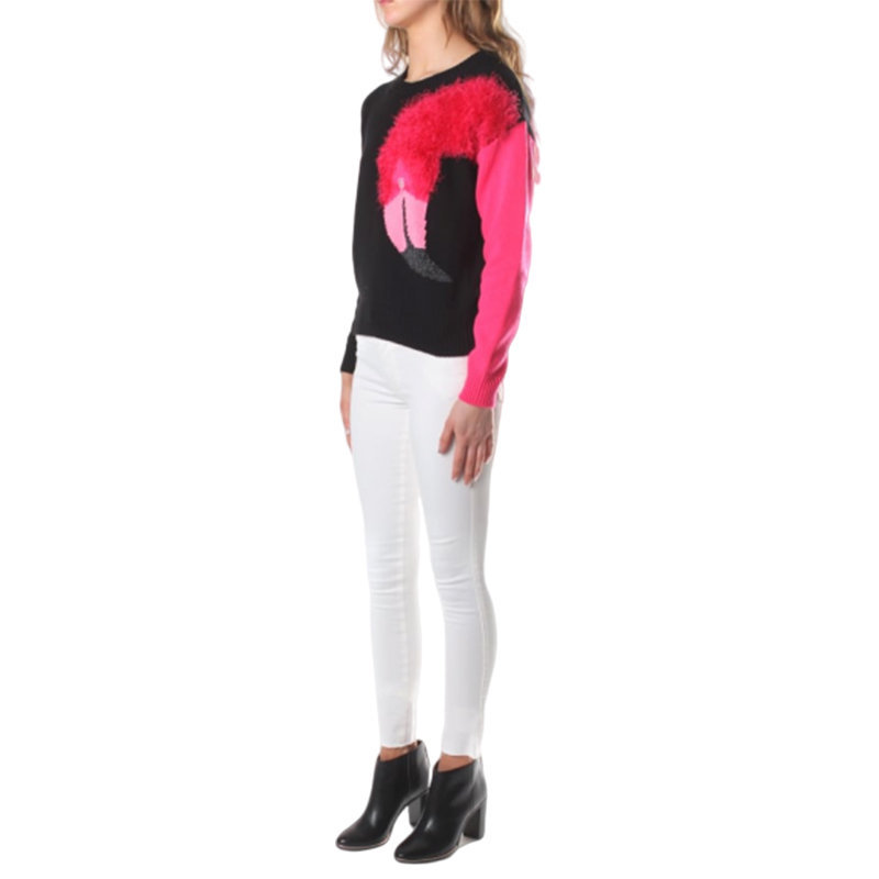diesel m flamy a flamingo 0hanu womens sweatshirt crew neck pullover knit jumper