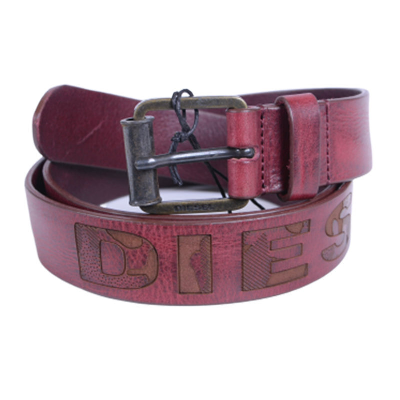 diesel cintura mens belts genuine cow leather engraved casual waist belt italy