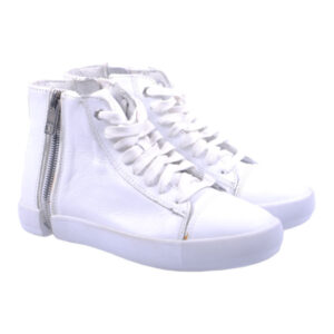 diesel s nentish w t1003 womens trainers leather high neck casual shoes rrp-150