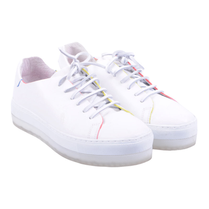 diesel womens trainers genuine leather sneakers lace up casual shoes rrp-170