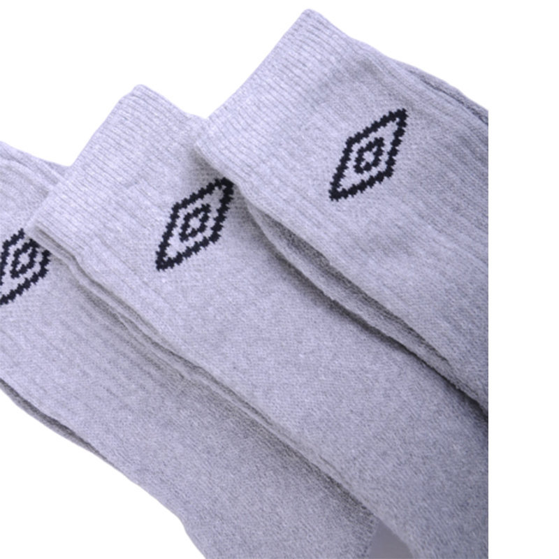 umbro mens socks 3 pairs unisex womens boots multi-pack mid calf sports socks