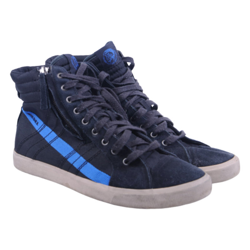 diesel d string h5478 900 mens trainers leather high neck casual shoes rrp-150