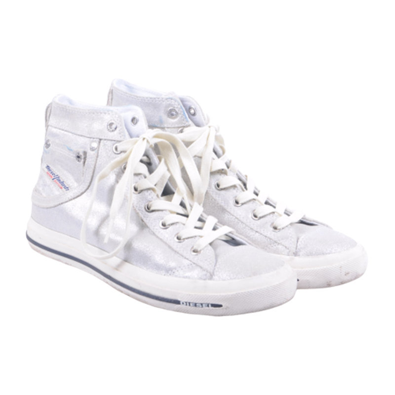 diesel exposure iv w womens trainers casual high neck lace shoes rp-190