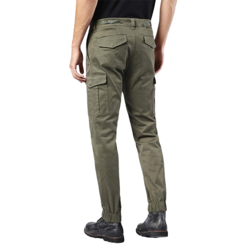 diesel chi united 0eaop 51f mens chino trousers khaki cargo combat casual pants