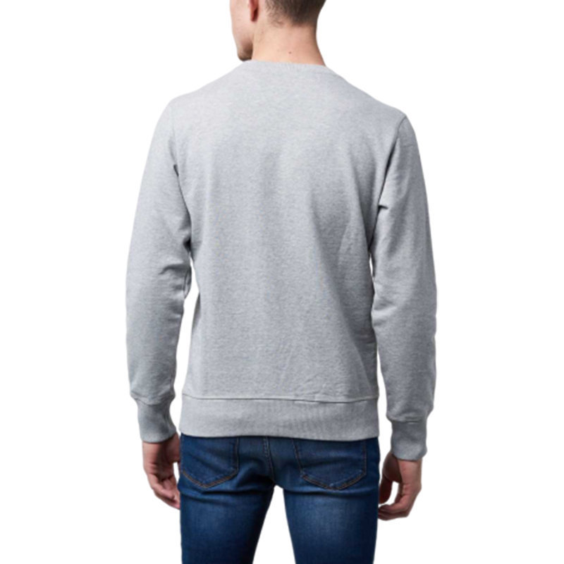 diesel s joe mb 912 0iaeg mens sweatshirt crew neck casual pullover grey jumper
