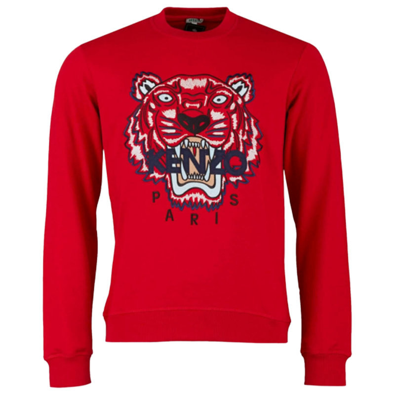 kenzo sweat mens sweatshirts regular fit crew neck pullover casual winter jumper