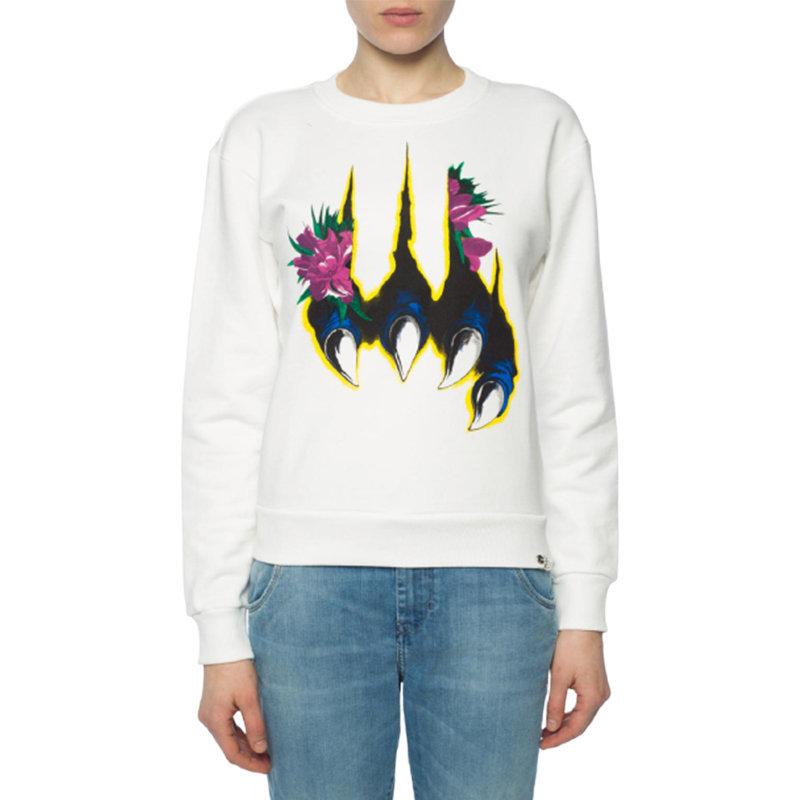 diesel f felpa 0baps women sweatshirt printed sweater casual pullover jumper