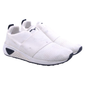 diesel womens trainers pull on sports casual off white running shoes rrp-149.99