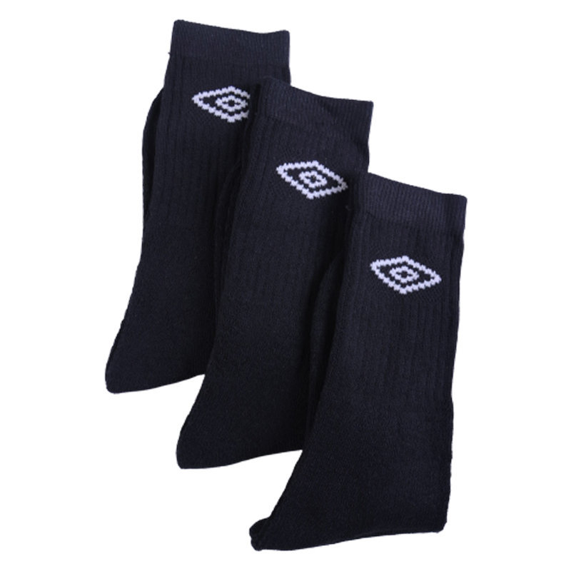 umbro mens socks 3 pairs unisex womens multi-pack crew ankle boots sports socks