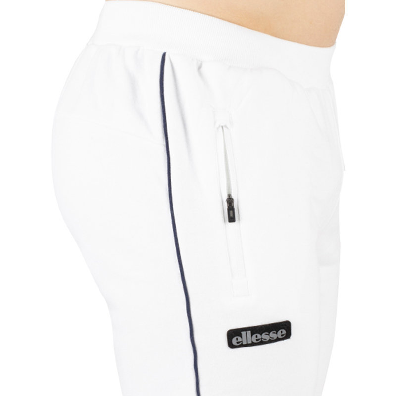 ellesse simono sxa06439 mens sweatpants casual white poly jogger tracksuit pants
