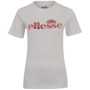 ellesse mellusine tee shirt womens t-shirt crew neck summer cotton top casual