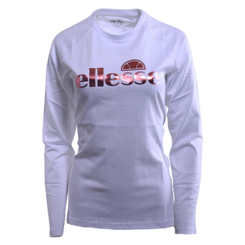 ellesse agatha scy0565 womens t-shirt crew neck summer cotton long sleeve tee