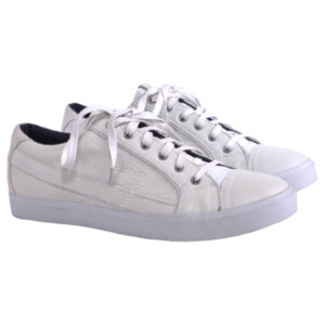diesel d string low mens trainers genuine leather lace up eu 43 shoes rrp £170