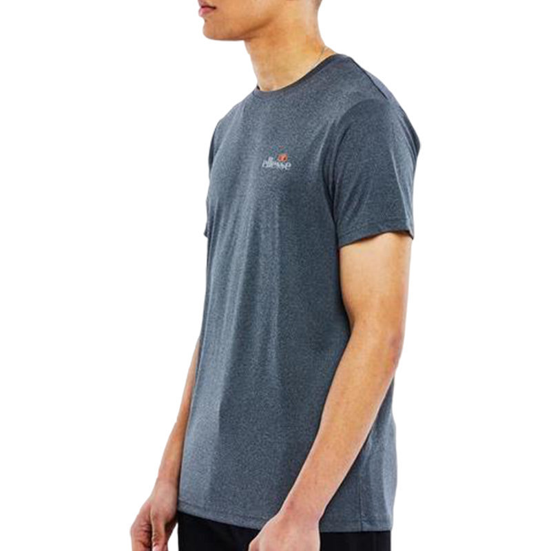 ellesse becketi sxa06440 mens t-shirt crew neck short sleeve black casual tee