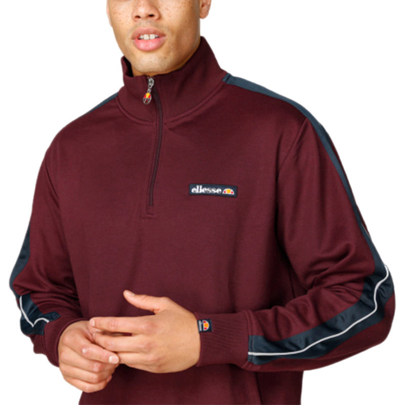 ellesse vinio shy05249 mens tracksuit tops long sleeve casual fleece sweatshirt