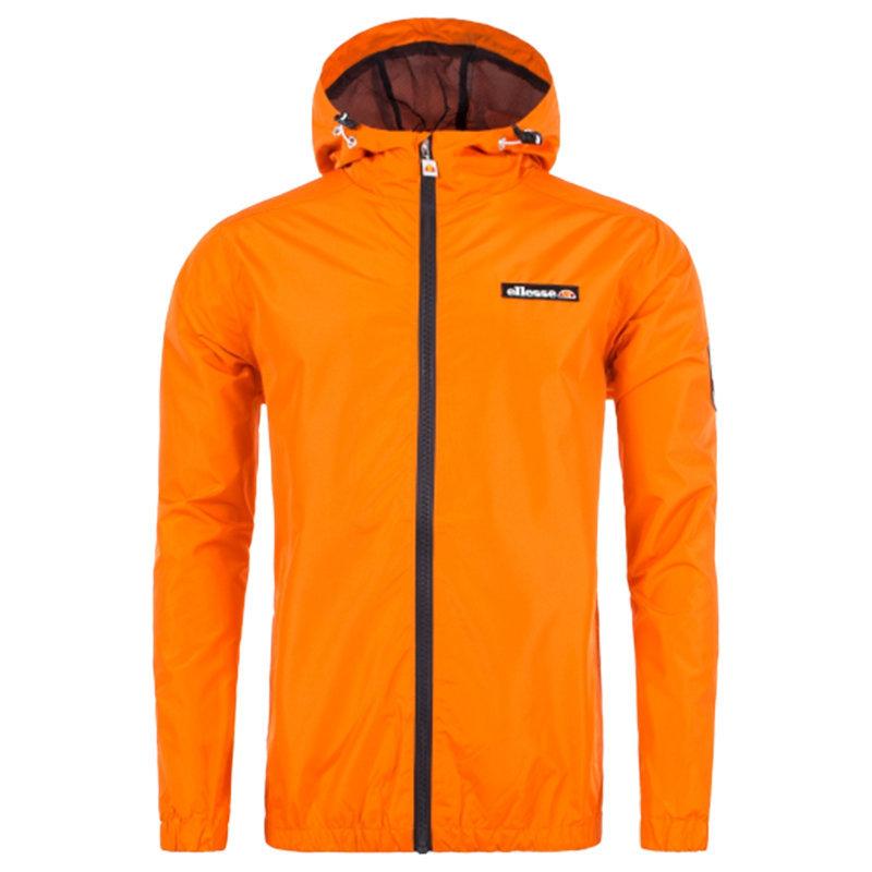 Dettagli su ELLESSE Terrazzo Fz SHC04987 Giacca da Uomo Leggero Formazione Felpa Arancione