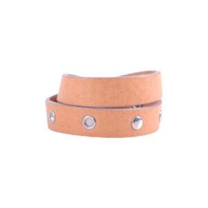 diesel mens bracelets genuine leather double wrap unisex womens wristband brown