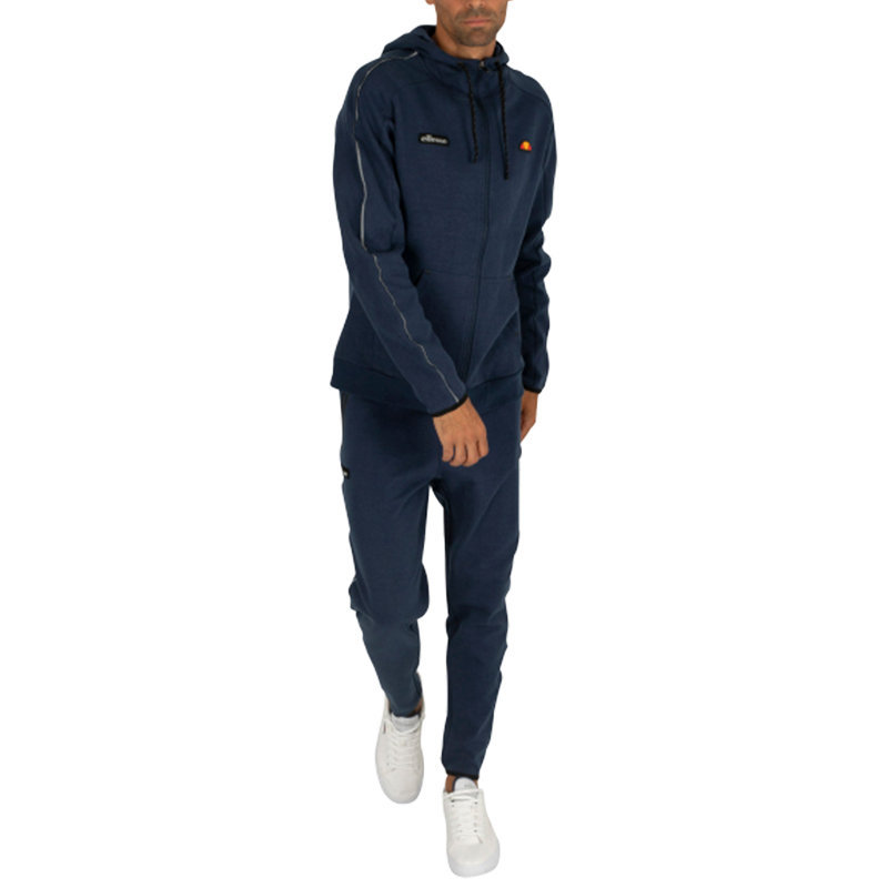 ellesse martineti sxc07357 mens sweatpants casual navy poly jogger track pant