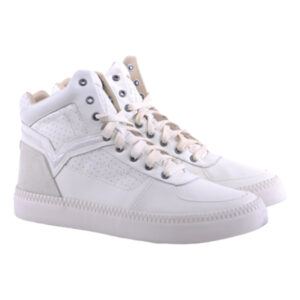 diesel s spaark mid mens trainers leather high neck eu 42 casual shoes rrp-160
