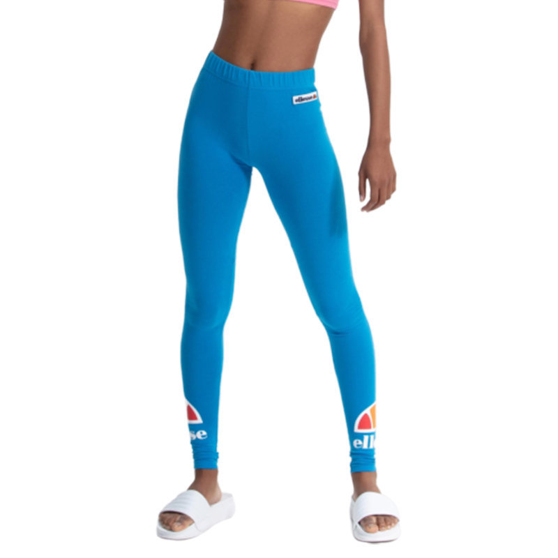 ellesse bellissa sga06319 womens legging high waist yoga gym fitness sports blue